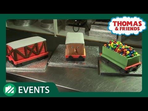 Jane Asher Train Birthday Cake