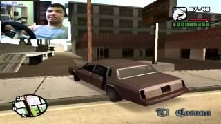 Jogando Gta San Andreas Com Volante