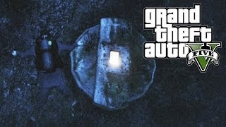 GTA 5 Easter Eggs LOST Hatch & Secret Message! (GTA V