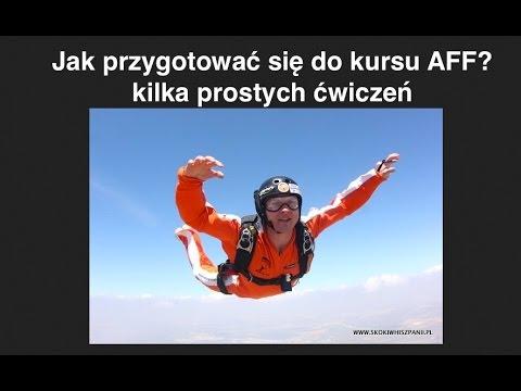 Skydiving for beginners - good, stable position. Ground prep, czyli jak przygotować się do kursu AFF
