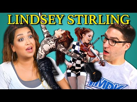 Adults React to Lindsey Stirling (Dubstep Violin)