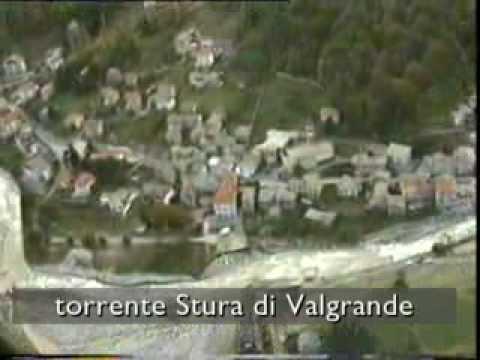 Alluvione 2000, il reticolato idrografico