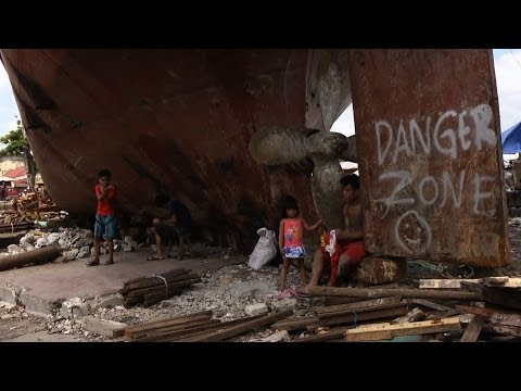 Six months after Typhoon Haiyan, still no place to go