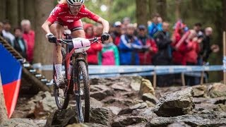 XCO Elite Women - Highlight from the 2015 UCI MTB World Cup presented by Shimano - CZE - Duration: 1:27.