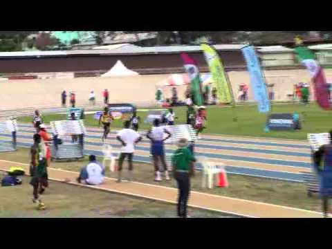 Barbados Today BSSAC Exclusive: 200M Under 13 Boys
