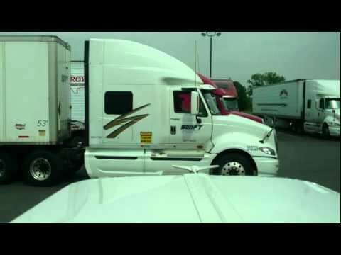 Semi-Truck Drag Race - North Little Rock, AR - 5/03/12