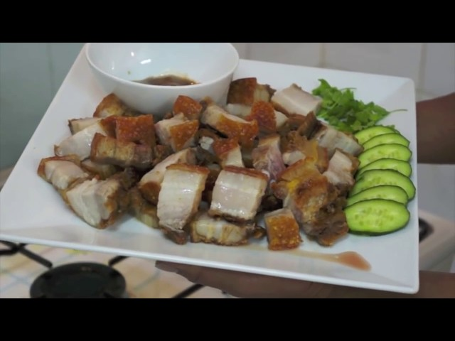 Crispy Pork Lechon Kawali Recipe pinoy food Philippines‬ ‪How to cook Great Filipino ‬