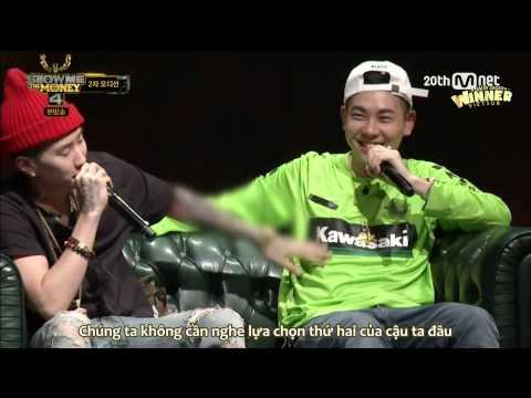 [BMWTV&Show][Vietsub] Show Me The Money 4 (EP 2) | SONG MINHO (CUT)