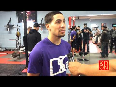 Danny Garcia speaks on upcoming Mayweather-Maidana fight