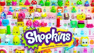 30 Shopkins Season 1 2nd Full Case Unboxing 60 Shopkins