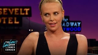 Charlize Theron on 'Huntsman' Crazy Costumes & Bad Breath