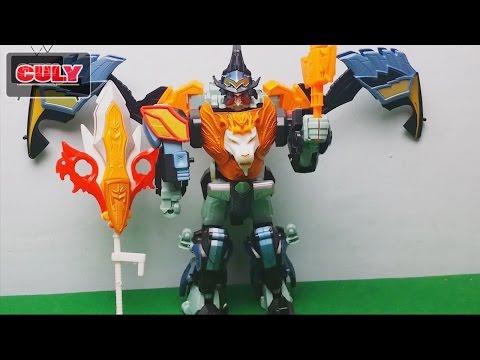 Robot Vua siêu nhân phép thuật Mahou Sentai Magiranger Megazord Magiking toy for kid đồ chơi trẻ em