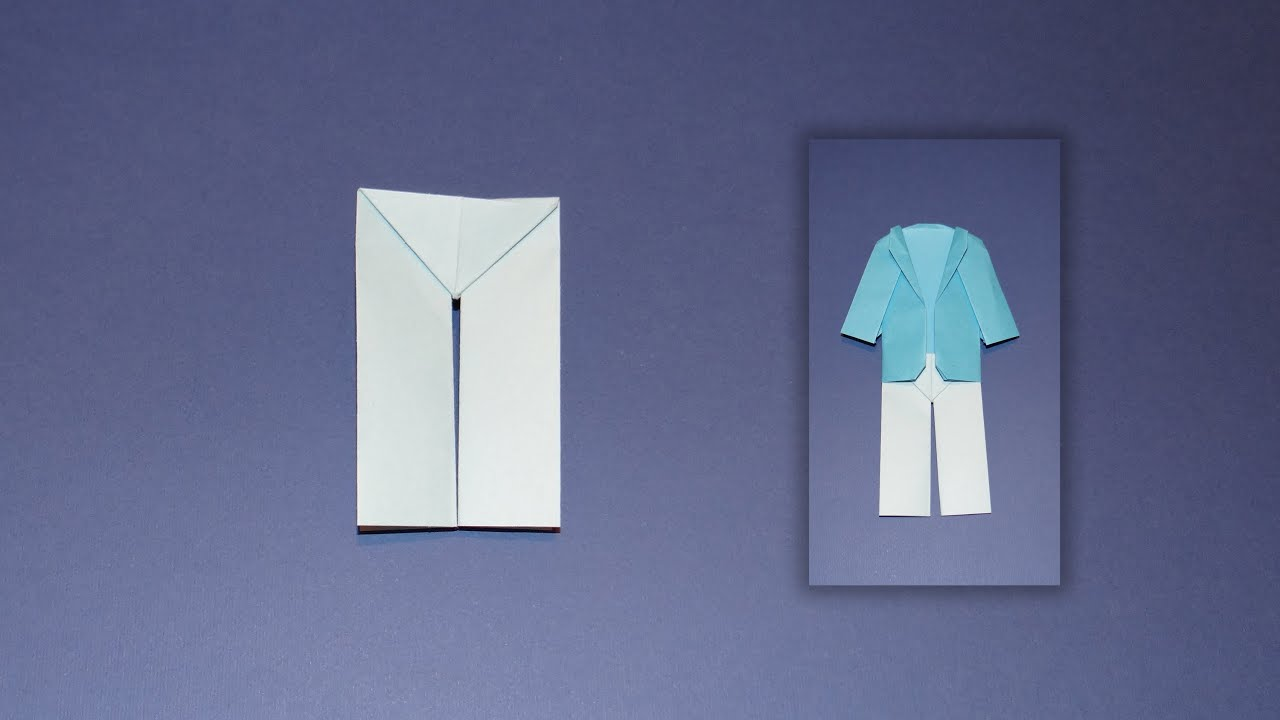 how to make origami pants youtube