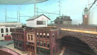 Pennsylvania Railroad HO Layout With Stunning Catenary
