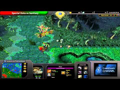 CyberGames DotA Januray 2014 - Semi FInal - Special.DOTA VS Sanitary
