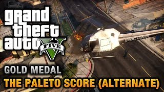 GTA 5 Mission #52 The Paleto Score (Alternate Method