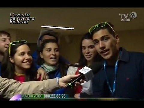 GMG 2013 Brasile, saluti con i genitori a Roma