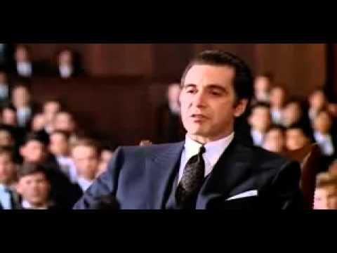 One of the Greatest Movie scenes ever! Al-pacino Scent of a woman speech