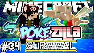 A PRINCESA! - PokéZilla Survival! - Minecraft #34