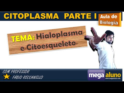 Hialoplasma, citoesqueleto e movimentos celulares - Citoplasma parte 1