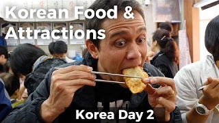 Amazing Korean Food and Attractions in Seoul! (Day 2)