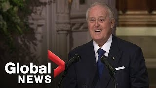Bush funeral: Former Canadian PM Brian Mulroney delivers powerful eulogy