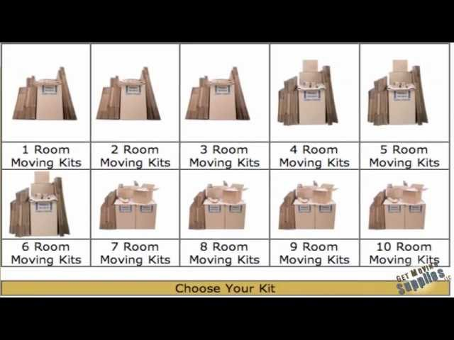Moving Boxes Des Moines IA - GET MOVING SUPPLIES, LLC