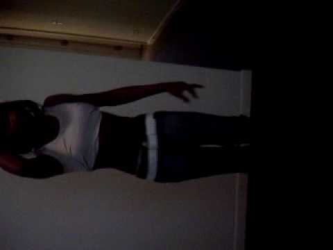 Mz.Secxi a.k.a. tyesha freestylin off of Lights out candles lit