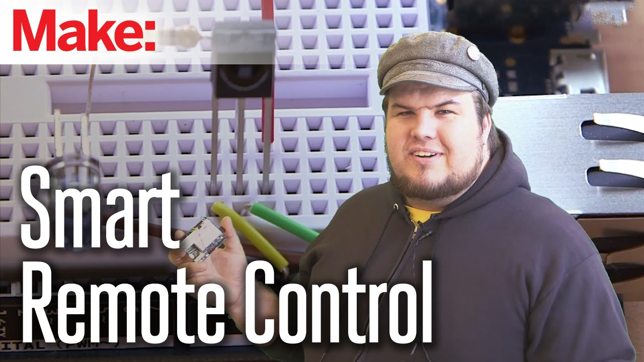 Smart Remote Control Doubles as Super Simple IR Sniffer