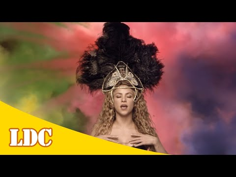 Shakira - La La La (Brazil 2014) ft. Carlinhos Brown [Lyrics]