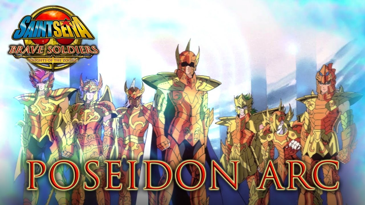 Saint Seiya Brave Soldiers - PS3 - Poseidon Arc (Trailer) - YouTube