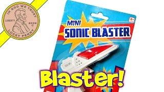 Shark Gun, Mini Sonic Blaster Key Chain & Bonus The