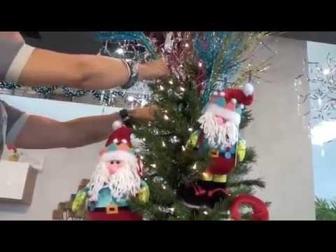 Taller de decoraci n en casa febus c mo decorar tu rbol - Como adornar tu casa en navidad ...