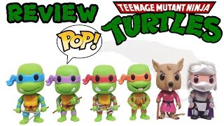 Review Tartarugas Ninja Funko POP Série 1