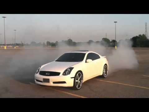 Memphis Pearl White Infiniti G35 Coupe on 22 inch Forgiato Rasoio Donuts