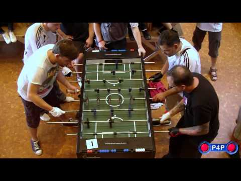 Swiss Open Foosball Championship 2011 - Open Doubles Final (Part 1)