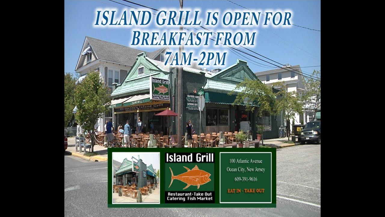 Island grill restaurant in ocean city nj breakfast for Fish market jersey city