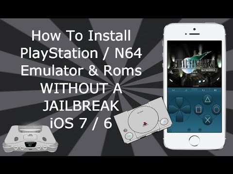 Install PlayStation & N64 Emulators WITHOUT A JAILBREAK ...
