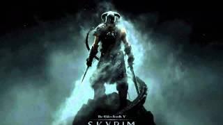 Elder Scrolls V Skyrim: Official Main theme (+ lyrics)