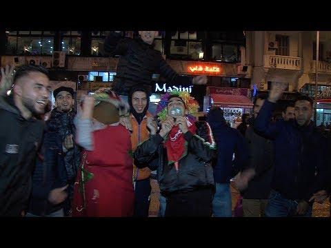 فرحة عارمة بطنجة بعد فوز المنتخب المغربي لكرة القدم بلقب (الشان) في نسختها الخامسة
