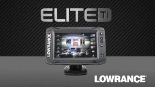 Lowrance Elite-7Ti Mid/High/TotalScan видео Эхолоты