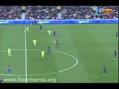 Lionel Messi goles a Getafe.flv