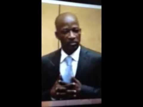 Discours de l'Ivoirien Blé Goudé lors de première comparution à la CPI ce 27 Mars.
