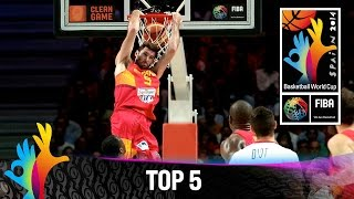 Top 5 Plays - 10 September - 2014 FIBA Basketball World Cup