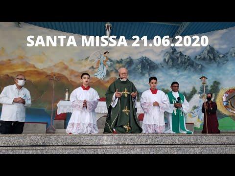 Santa Missa | 21.06.2020 | Domingo | Padre José Sometti | ANSPAZ