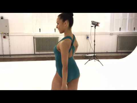 So Danca Cap Sleeve Cross-Over Back Ladies' Leotard