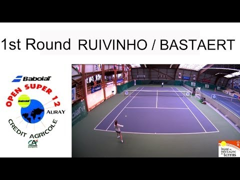 Victory of Ruivinho Graca (POR) over  Bastaert (FRA):  (7/6-7/6) - Open Super 12 Auray - 1st Round
