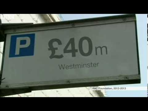 Parking 'brings £594m surplus for English councils'