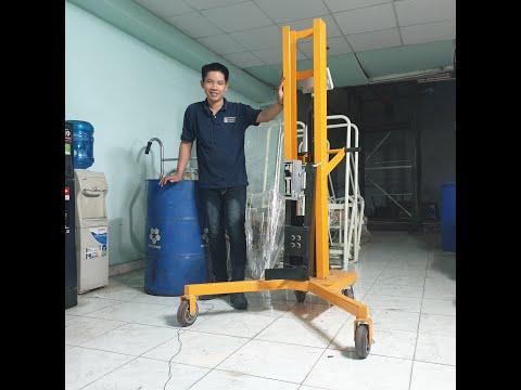 hướng dẫn sử dụng xe nâng thùng phuy có cân DTF 450C-1 cho thùng phuy sắt Lh 0909 216 299