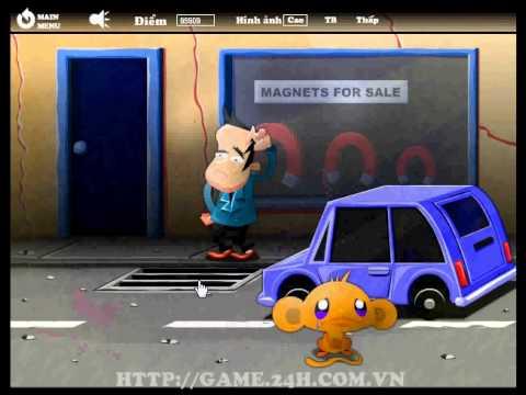 Game chú khỉ buồn 8 - Làm chú khỉ vui cười